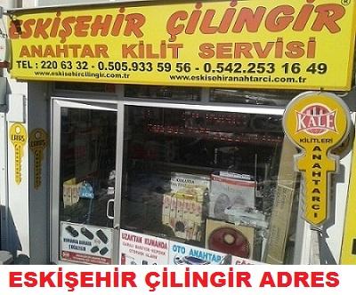 Eskişehir Çilingir Adreleri